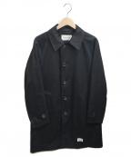 WACKO MARIA()の古着「COLLAR COAT (TYPE-1)」 ブラック