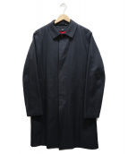 Traditional Weatherwear(トラディショナルウェザーウェア)の古着「ステンカラーコート」|ネイビー