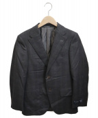 Guabello(グァベロ)の古着「テーラードジャケット」 ブラウン