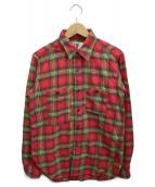 Engineered Garments(エンジニアードガーメンツ)の古着「チェックシャツ」 レッド