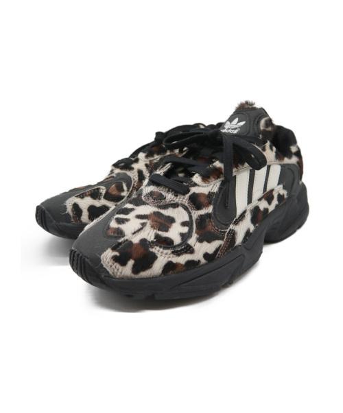 adidas(アディダス)adidas (アディダス) YUNG-1 ブラック×ブラウン サイズ:27.5 EG8726の古着・服飾アイテム