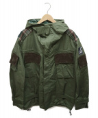 JUNYA WATANABE MAN(ジュンヤワタナベ マン)の古着「Ark Air Jacket」|オリーブ