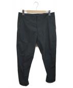 Descente ALLTERRAIN(デサントオルテライン)の古着「HIGH STRETCH PANTS WIDE TAPERE」 ブラック