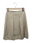 FOXEY NEWYORK(フォクシーニューヨーク)の古着「バルーンスカート」 ベージュ