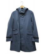 MINOTAUR(ミノトール)の古着「フーデッドコート」|ブルー