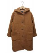 Demi-Luxe BEAMS(デミルクスビームス)の古着「フーデッドコート」 ブラウン