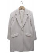 LAISSE PASSE(レッセパッセ)の古着「チェスターコート」|ピンク