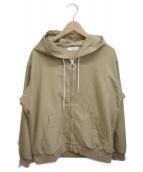 nanamica(ナナミカ)の古着「ALPHADRYフードジャケット」|ベージュ
