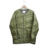 nanamica(ナナミカ)の古着「Down coat」|オリーブ