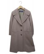 CARA O CRUZ(キャラオクルス)の古着「チェスターコート」|ブラウン