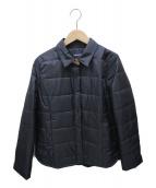 CARA O CRUZ(キャラオクルス)の古着「キルティングジャケット」|ネイビー