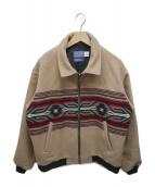 PENDLETON(ペンドルトン)の古着「ウールジャケット」 ベージュ×ブラック
