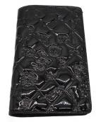 ()の古着「パテントウォレット」|ブラック