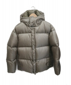 DESCENTE PAUSE(デサントポーズ)の古着「DOWN JACKET」 カーキ
