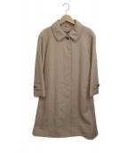 Burberrys(バーバリーズ)の古着「カシミヤステンカラーコート」|キャメル