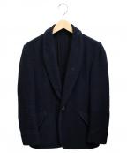 BROWN by 2-tacs(ブラウンバイツータックス)の古着「ショールカラージャケット」|ネイビー