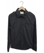 Maison Margiela(メゾンマルジェラ)の古着「エポーレットシャツ」|ブラック