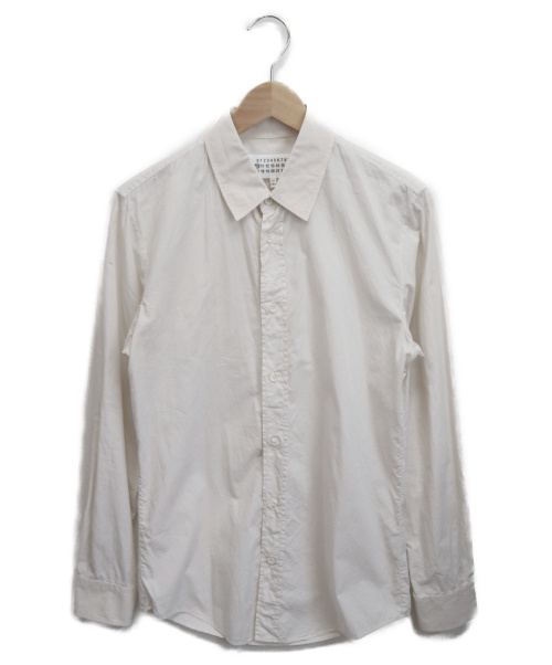Maison Margiela(メゾンマルジェラ)Maison Margiela (メゾンマルジェラ) レギュラーシャツ アイボリー サイズ:44の古着・服飾アイテム