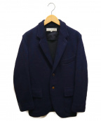 HAVERSACK(ハバーサック)の古着「ウールジャケット」 ネイビー