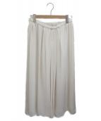 Plage(プラージュ)の古着「Crepe ギャザースカート」|アイボリー