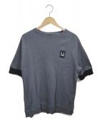 FRED PERRY(フレッドペリー)の古着「半袖Tシャツ」|グレー
