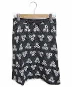 TOCCA(トッカ)の古着「刺繍スカート」 グレー