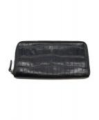 Felisi(フェリージ)の古着「ラウンドジップ財布」|ブラック
