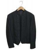 LAD MUSICIAN(ラッドミュージシャン)の古着「ナポレオンジャケット」|ブラック
