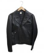 Ron Herman(ロンハーマン)の古着「ダブルライダースジャケット」|ブラック