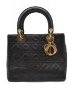 Christian Dior(クリスチャンディオール)の古着「ハンドバッグ」 ブラック