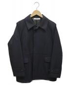 .efiLevol(エフィレボル)の古着「スタンドカラージャケット」 ネイビー