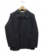 .efiLevol(エフィレボル)の古着「スタンドカラージャケット」|ネイビー