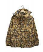 Columbia(コロンビア)の古着「ハントハーバージャケット」|ブラウン×イエロー
