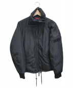 DIESEL(ディーゼル)の古着「スタンドカラーパフジャケット」|ブラック