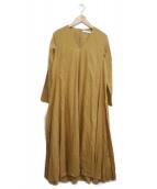 MARIHA(マリハ)の古着「星影のドレス」|イエロー