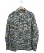 ()の古着「カモフラ柄 M-51 ジャケット」 グリーン
