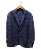 L.B.M.1911(ルビアム1911)の古着「リネンアンコンジャケット」|ブルー