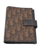 Christian Dior(クリスチャン ディオール)の古着「トロッター柄手帳カバー」|ブラウン