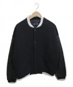 T by ALEXANDER WANG(ティーバイアレキサンダーワン)の古着「ヴァーシティジャケット」|ブラック