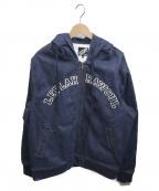 LEFLAH(レフラー)の古着「フーデッドジャケット」|インディゴ