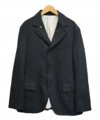 Adam et Rope(アダムエロペ)の古着「ハイブリッドツイードジャケット」 グレー