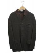 YohjiYamamoto pour homme(ヨウジヤマモトプールオム)の古着「リバーシブルウールジャケット」|ブラウン