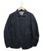 KATO(カトー)の古着「立体裁断ファーストデニムジャケット」|インディゴ