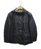 DAKS(ダックス)の古着「フーデッドジャケット」|ブラック