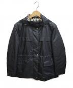DAKS(ダックス)の古着「フーデッドジャケット」 ブラック