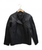 BERARDI(ベラルディ)の古着「ライダースジャケット」|ブラック