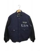 Buzz Ricksons(バズリクソンズ)の古着「U.S.NAVY FLIGHT INSTRUCTOR JAC」|ネイビー