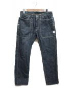 SASSAFRAS(ササフラス)の古着「フォールリーフパンツ」|ブルー