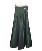 YOHJI YAMAMOTO(ヨウジヤマモト)の古着「ロングスカート」|グリーン