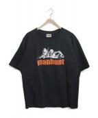 ()の古着「MANHUNT TEE」|ブラック